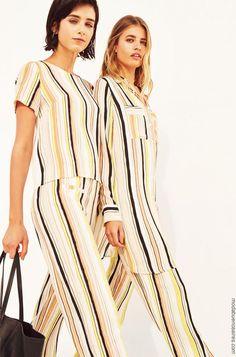 5add5a888a1 Blusas de moda 2019 ropa de mujer. │ Moda primavera verano 2019. Blusas De