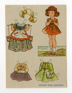 78.2622: muñeca de papel | Muñecas de papel | Muñecas | Colecciones en línea | El fuerte