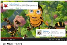 """This adorable connection. 27 """"Bee Movie"""" Jokes That Are Just Too Fucking Much Dankest Memes, Jokes, Shrek, Laughing So Hard, Movie Trailers, Funny Pictures, Hilarious, Lol, Aviation"""