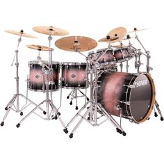 Are you looking for a new drum set? You can find a selection of SONOR DRUMS including this  SONOR SELECT FORCE 5 DRIVE 6-PIECE SHELL PACK IN BROWN GALAXY SPARKLE (free shipping) at   http://jsmartmusic.com
