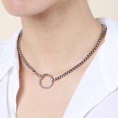 Martine Ali Mini Boxer Chain Necklace / Shop Super Street - 1
