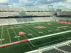 TDECU Stadium certainly offers a close view from the press box