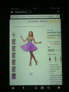 Light Purple Formal Dress 9