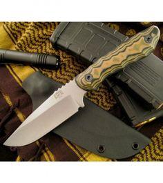 Bill Coye Knives Oscar Mike Custom Fixed Blade Knife