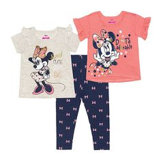 Kids Outfits Girls, Little Girl Outfits, Little Girl Fashion, Toddler Girl Outfits, Toddler Girls, Minnie Mouse Bedding, Disney Outfits, Disney Clothes, Cute Toddlers