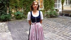 Austria/Germany's traditional lederhosen and dirndle make a comeback. (BBC)