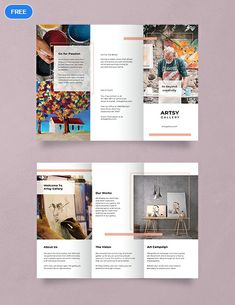 Tri Fold Brochure Template Illustrator Best Of Free Creative Tri Fold Brochure T. - Quality Business Flyer and Brochure Design Brochure Indesign, Template Brochure, Brochure Layout, Adobe Indesign, Corporate Brochure, Leaflet Template, Brochure Trifold, Free Brochure, Flyer Layout