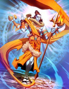 Shiva by GENZOMAN.deviantart.com on @deviantART