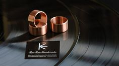 """Heavy minimalistic Copper Rings """"Back to Basics"""" Collection by Cheche Handmade / cheche. Copper Rings, Handcrafted Jewelry, Napkin Rings, Rings For Men, Brooch, Bracelets, Earrings, Gifts, Collection"""