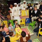Riassunto: Alcuni membri del Parlamento europeo visitano il Campo per profughi siriani Mrajeeb Al Fhood al confine tra gli Emirati Arabi…
