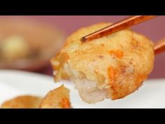 ▶ Satsuma-age (Deep-Fried Fishcake Recipe) さつま揚げ(つけ揚げ) 作り方 レシピ - YouTube