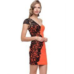 Elle Zeitoune - Sidney - Bodycon Dresses (Orange)