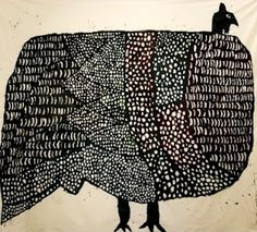 Same Artist as the other bird. Love the patterns and textures and shapes. Miroco Machiko