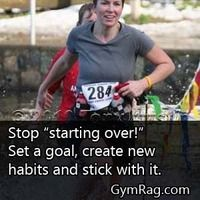 See the end of your goals by following through.