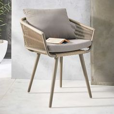Twisted Dining Chair | west elm
