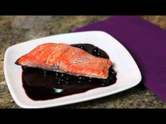 SeaBear's Recipe for Wild Alaskan Salmon with Pinot Noir Huckleberry Glaze