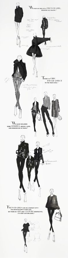 Beautiful sketches from the Joe Fresh sketchbook - Winter 2013. JOEFRESH.COM - Tap the link to shop on our official online store! You can also join our affiliate and/or rewards programs for FREE!