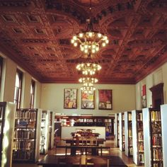 Our Central LIbrary in Downtown St. Louis, Mo underwent a 2 year remodel/rehab. It opens again this Sunday. Hooray!!!!