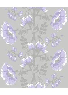 VALLILA, Vallila Sarastus tapetti Silkkisuukko lila