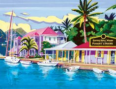 Soper's Hole Wharf by CaribbeanLandscapes on DeviantArt