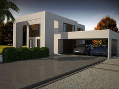 Ideas de #Casas de #Terraza, estilo #Moderno diseñado por MODULAR HOMES TECH Decorador con #Render-maqueta  #CajonDeIdeas