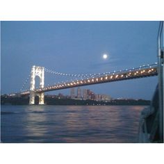 GWB from the boat