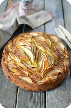 Gâteau Design aux Pommes