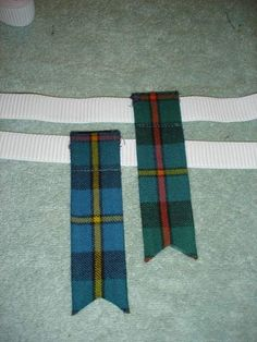 Three different ways to Make Kilt hose Flashes