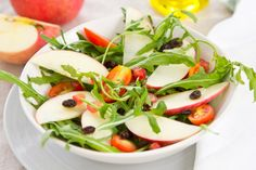 Apple Pomegranate Salad With Spicy Honey Dressing Girlxplorer