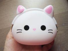 Porte-monnaie Chat mignon kawaii silicone chat par DoucesCreations