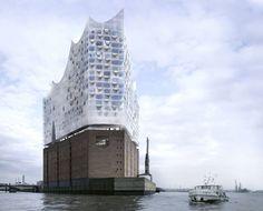 Herzon de Meuron _ Concert hall, Hamburg