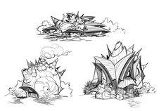 http://frogbillgo.deviantart.com/art/Sacred-Seasons-2-Shell-Houses-165282895