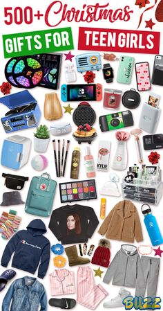 See Christmas gifts for teenage girls. If she wants it, it is guaranteed to be on this ultimate list of gift ideas for teenage girls. # gift ideas for teenage girl Christmas Gifts for Teen Girls Teenage Girl Christmas List, Christmas Gifts For Teen Girls, Tween Girl Gifts, Birthday Gifts For Teens, Birthday Gifts For Boyfriend, Boyfriend Gifts, Teenage Gifts, Christmas Presents, Teenage Girl Birthday