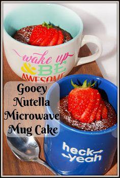 Gooey Nutella Microw