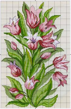 Learn Embroidery, Cross Stitch Embroidery, Embroidery Patterns, Hand Embroidery, Cross Stitch Rose, Cross Stitch Flowers, Cross Stitch Charts, Modern Cross Stitch Patterns, Cross Stitch Designs