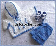 Ravelry: Baby Crochet Pattern JC86NB pattern by Justcrochet Designs