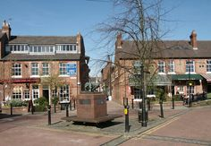 Goose Green in Altrincham Greater Manchester
