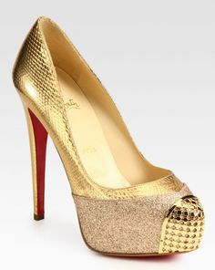 Christian Louboutin, gold
