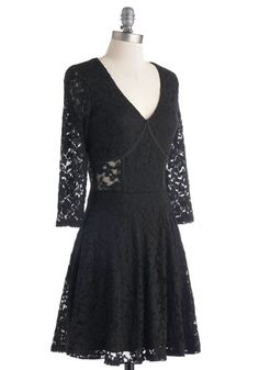 Lovely in Lace Dress, #ModCloth