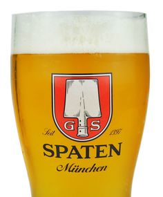 Spaten. A great German beer! ~ when I lived there (a while ago, shall we say:), Munich was home to 9 breweries!!