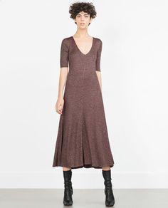 FLARED DRESS-Maxi-Dresses-WOMAN | ZARA United States