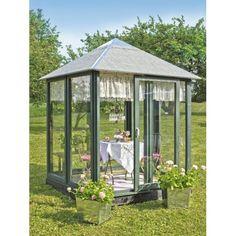 Plus Cafepavillon inkl. glaselementer og skydedør