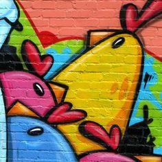 Angry Birds Brick Wall Graffiti  #retina #iPad #Air #wallpaper