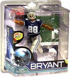 McFarlane Toys NFL Dallas Cowboys Sports Picks Series 28 Dez Bryant Action  Figure  Blue Jersey  5d50d3bcc