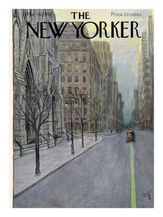 The New Yorker cover, March 16, 1957.