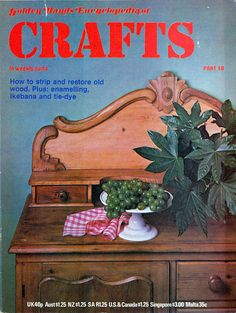 Golden Hands Crafts Weekly Part 18 Covering Various Crafting Projects, Colour Magazine with Patterns and Instructions Craft Books, Book Crafts, Book Costumes, Vintage Crafts, Vintage Patterns, Unique Vintage, Craft Projects, 18th, Crafting