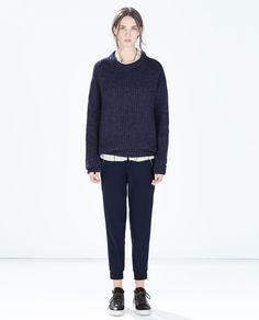 ZARA - WOMAN - JOGGING PANTS WITH ZIPS