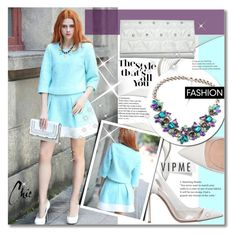 """""""~Sky Chic~"""" by amethyst0818 ❤ liked on Polyvore featuring Gianvito Rossi and vipme"""