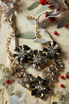 Holiday Jewelry on the #AnthroBlog
