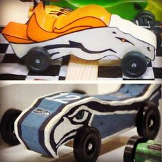 Pinewood Derby cars: 2 oz behind back axel. 1 oz just in front of back axel. Center of gravity in front of back axel. Cub Scouts, Girl Scouts, Fun Activities For Kids, Crafts For Kids, Awana Grand Prix Car Ideas, Boy Scout Crafts, Kids R Us, Rain Gutter Regatta, Pinewood Derby Cars